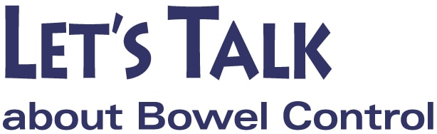 Let's Talk about Bowel Control logo
