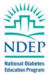 National Diabetes Education Program (NDEP) logo