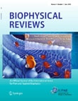 The cover of a special issue of Biophysical Reviews