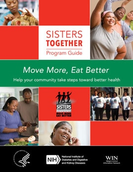 Sisters together program guide cover