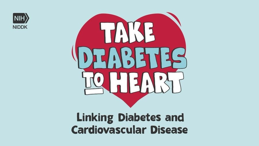 Take diabetes to heart banner for national diabetes month
