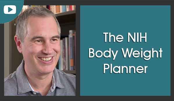 Kevin Hall and the NIDDK Body Weight Planner