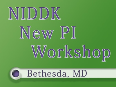 New PI Workshop logo in Bethesda, MD