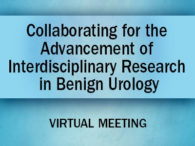 Roll-up/social image for the Collaborating for the Advancement of Interdisciplinary Research in Benign Urology (CAIRIBU) meeting page