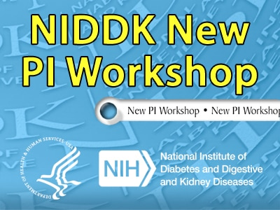 NIDDK New PI Workshop Graphic