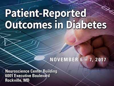 Workshop: Using Patient Reported Outcomes in Diabetes Research and Practice