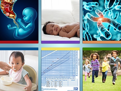 Web banner for Understanding Risk and Causal Mechanisms for Developing Obesity in Infants and Young Children