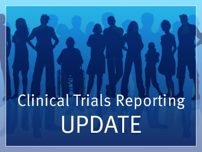 Clinical Trials Reporting Update Rotator Image