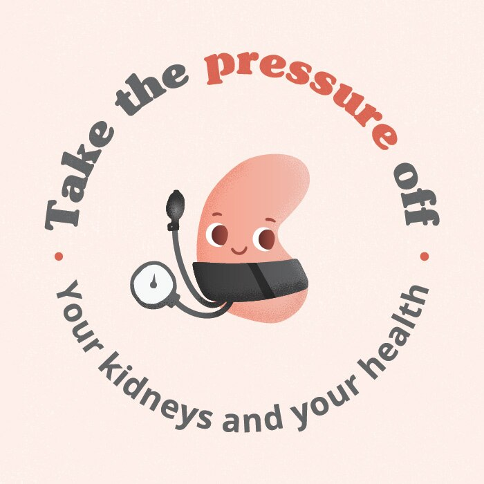 Take the pressure off your kidneys and your health