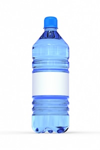 Bottled water.