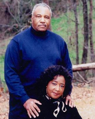 A photograph of Earl and his wife
