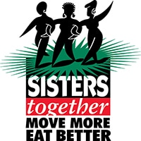 Sisters together move more eat better