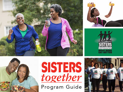 SIsters together program guide image.