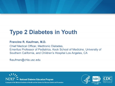 Type 2 Diabetes in Youths