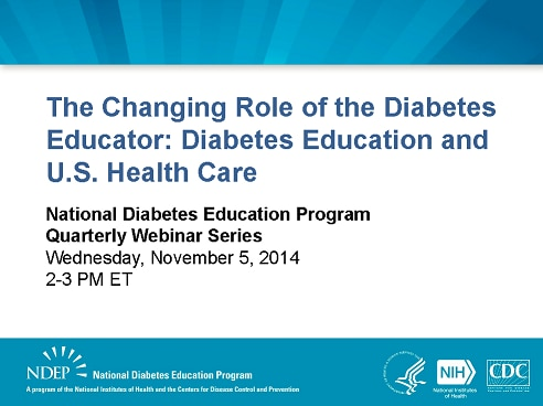 The Changing Role of Diabetes