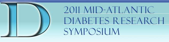 Banner for the 201 Mid Atlantic Diabetes Research Symposium.