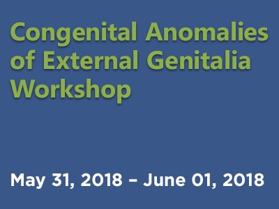 2018 Congenital Anomalies of External Genitalia Workshop web rotator.