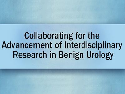 Collaborating for the Advancement of Interdisciplinary Research in Benign Urology 2018 meeting web rotator