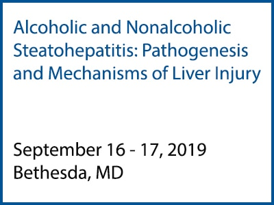 Alcoholic and Nonalcoholic Steatohepatitis: Pathogenesis and Mechanisms of Liver Injury meeting rotator
