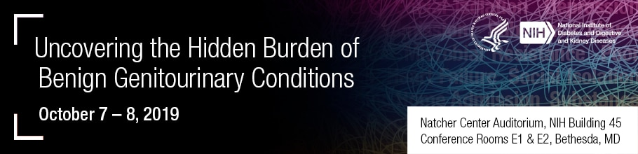 Uncovering the Hidden Burden of Benign Genitourinary Conditions meeting banner