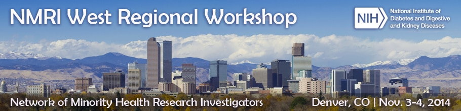 Banner for the 2014 NMRI West Regional Workshop