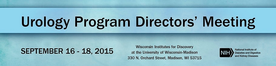 Banner for the 2015 Urology Program Directors' Meeting
