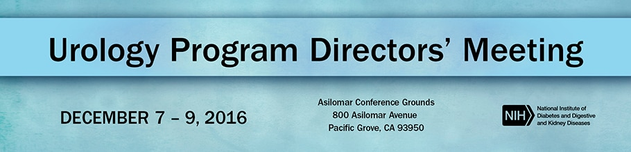 Banner for the 2016 Urology Program Directors' Meeting