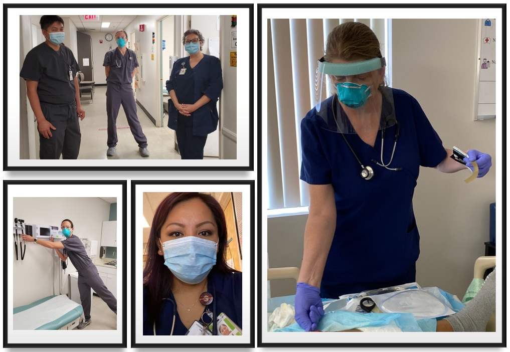 Photo of nurses in the NIDDK Phoenix Epidemiology and Clinical Research center.