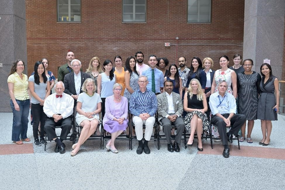 Group photo of Endocrinology Fellow Group 2020