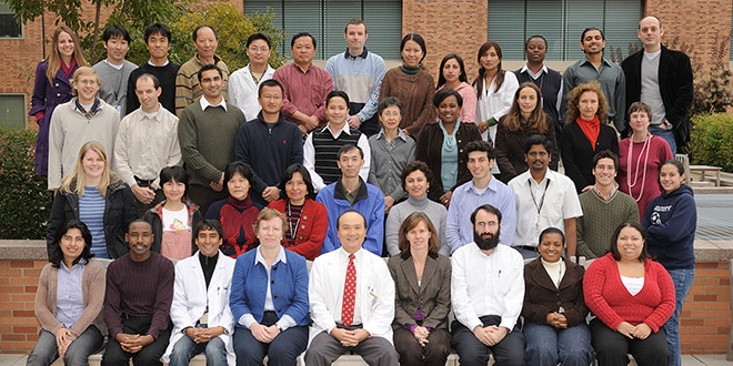 NIDDK postdoc fellows pose for a group photo