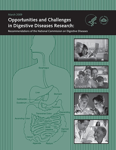 Opportunities and Challenges in Digestive Diseases Research: Recommendations of the National Commission on Digestive Diseases 2009 report cover
