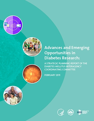 Advances and Emerging Opportunities in Diabetes Research: A Strategic Planning Report of the Diabetes Mellitus Interagency Coordinating Committee 2011 cover
