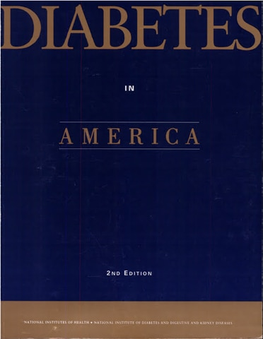 Diabetes in America Second Edition Cover.