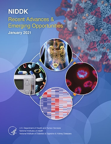 Cover of the NIDDK Recent Advances and Emerging Opportunities report