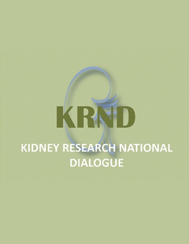 Kidney Research National Dialogue (KRND) logo