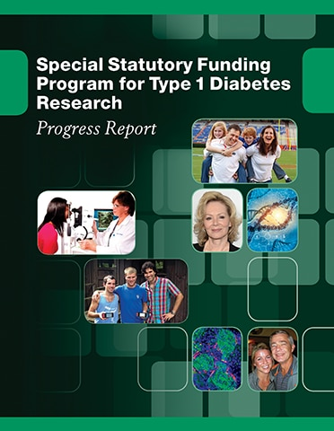 Special Statutory Funding Program for Type 1 Diabetes Research: Progress Report 2016 Cover