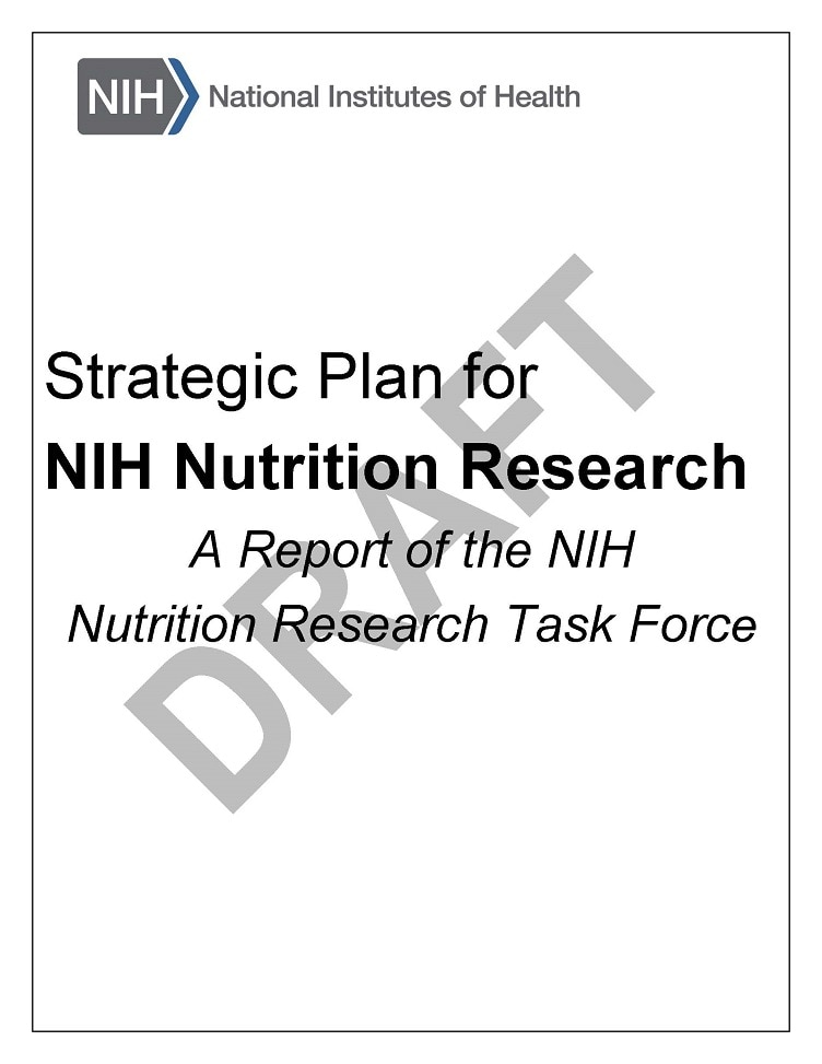 Nutrition Research Task Force Draft Cover