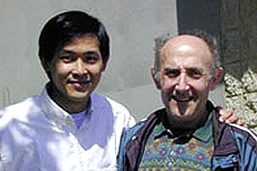Photo of Alex Chang and Paul at the 20th International Carbohydrate Symposium