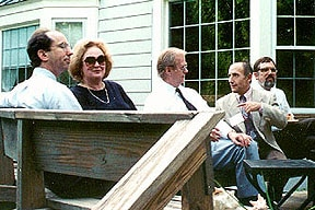 Photo on the deck at Hortons, after a Regional Meeting of the ACS in 1995