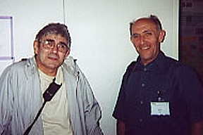 Photo of Andre DeBruyn and Paul at the 20th International Carbohydrate Symposium