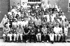 Group photo of participants at the 2003 Gordon Research Conference on Carbohydrates