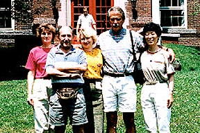 Photo at the 1994 Gordon Conference on Carbohydrates