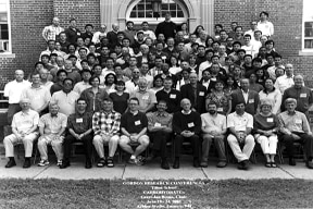 Group photograph at the 2005 GRC on Carbohydrates meeting