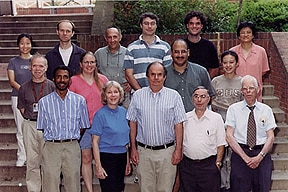 Photo of Laboratory of Medicinal Chemistry, Summer 2000