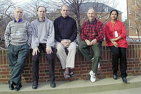 Photo of Section members at the beginning of 2001