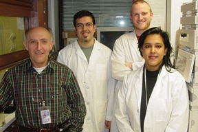 Group photo of Section on Carbohydrates lab members