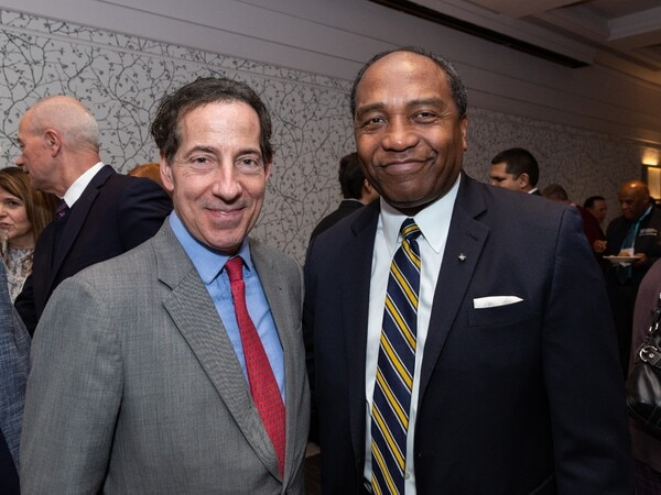 House Representative Jamie Raskin and Dr. Griffin Rodgers